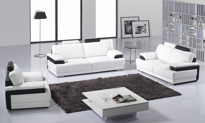 Free Shipping Classic sectional living room sofa Top grain leather Sofa solid wood frame