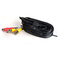 KSOL 4*50m BNC Video Power Cable For CCTV Camera DVR Security System