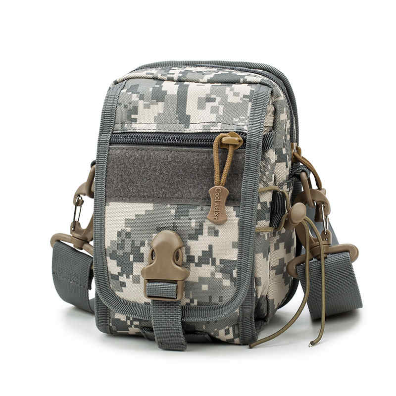 Men's Nylon Camp Hike Equipment Tactics Military Men Messenger Bag Small Molle Pouch Crossbody Shoulder Messenger Bags 0606