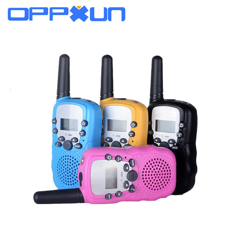 2PCS RT-388 Walkie Talkie Toys For Children 0.5W 22CH Two Way Kids Radio Boys And Girls Brithday Xmas Gift