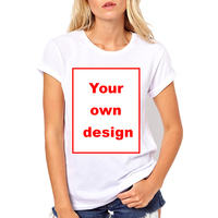 Customized Women T Shirt Print Your Own Design High Quality Men S Short Sleeve Shirt