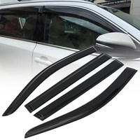 Car Window Visor Rain Sun Guard Vent Shade Set For Toyota Highlander 2015