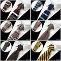 2016 Marca Nova Moda Dos Homens de Malha Pescoço Laços Dos Homens Gravata De Malha Designer Magro Narrow Skinny Gravatas Para que Homens Cravate Gravata