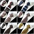 2016 Nueva Marca de Moda Para Hombre Corbatas de Los Hombres Corbata De Punto de Punto Delgado Diseñador Cravate Estrecho Flaco Corbata Corbatas Para Los Hombres