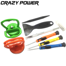 CRAZY POWER 9PCS Precision Repair Opening Kit Professional Pry Screwdriver For iPad Laptop iPhone Cell Phone