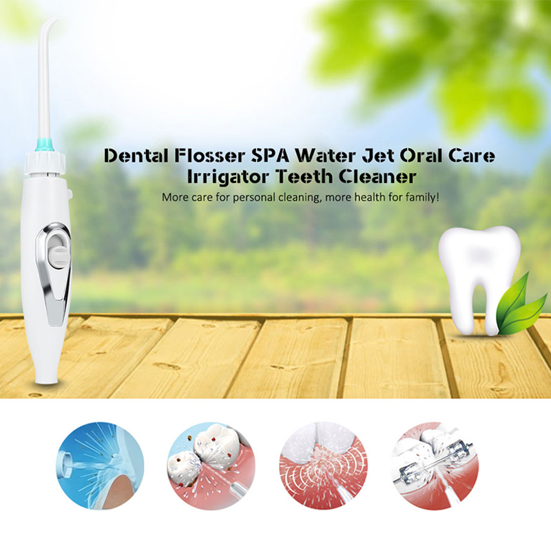 Gustala Oral Hygiene Faucet Oral Irrigator Dental Flosser Water Jet Teeth Cleaner Oral Care Teeth Cleaner Irrigator Series oral irrigator faucet water flosser power dental water jet oral care teeth cleaner spa dental irrigator irrigation with 6 tips