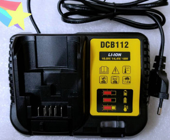 Smart Charger for dewalt 10.8V 14.4V 18V DCD996 995 DCB105 204 205 10.8v-20v Fast charger EU Smart single battery testing