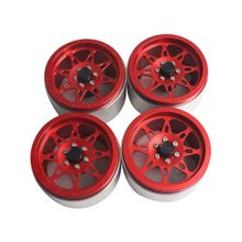 цены 4PCS Metal 2.2 Inch Wheel Rim for 1/10 RC Crawler Axial SCX10 RR10 90053 AX10 Wraith 90056 90045 90048S84