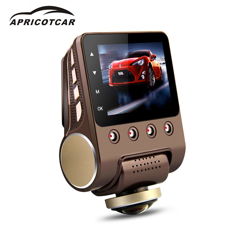 360 Degree Panoramic WIFI Driving Recorder Hidden Night Vision Parking Monitoring Car Dash Camera DVR HD 1080P Video Recorder