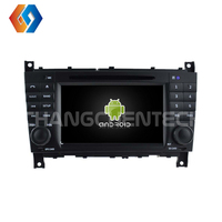 7 inch IPS Touch Screen Car DVD Radio Player for Benz C CLASS CLC W203 Octa Core Android 9 4G Ram 32G Rom with BT WiFi GPS 4
