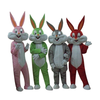 Bugs bunny mascot adult costume mascot costume sales customized cosplay costumes free shipping