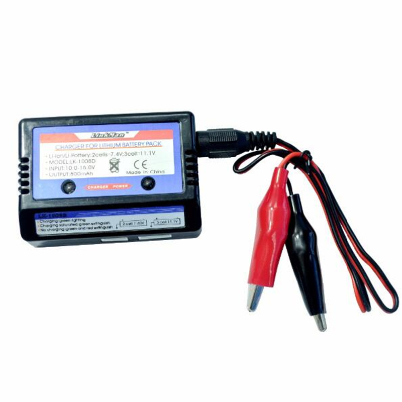 LK-1008D 7.4v 11.1v LiPo RC Battery Balance Charger 2s 3s battery simple 2-3s balance charger RC Helicopter Car Airsoft Air Guns 10cm 100mm rc lipo battery balance charger plug 2s 3s 4s 5s 6s cable for rc helicopter 10 pcs