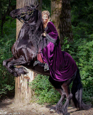 Horse-Riding-Habits-Velvet-Gown-VictorainChoice