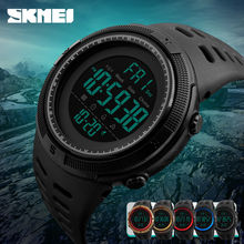 SKMEI Men Watches Waterproof Luxury Fashion Sport Watch Digital LED Outdoor Watch Alarm Countdown Dual Time Student Wristwatches