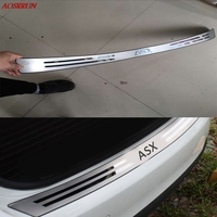 Stainless Steel After The Guard Back Shrouds Rear Bumper Sill Car Accessories For Mitsubishi ASX 2011