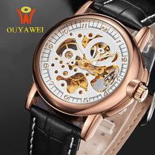 OUYAWI Automatic watch mens mechanical brand luxury  orologi tourbillon clock men sports watch swiss military automatik watch все цены