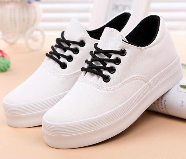 Aliexpress.com : Buy 2015 Women Platforms Sneakers Women Canvas ...