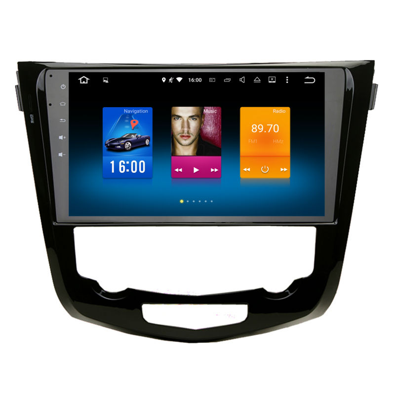 Auto 2 din android GPS per Nissan X-trail 2013 + navigation autoradio unità di testa multimedia 4 Gb + 32 Gb 64bit Android 8.0 PX5 8-Core