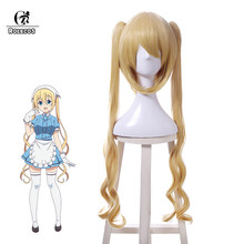 ROLECOS Blend S Anime Cosplay Headwear Kaho Hinata Synthetic Hair Stile Cafe Sadistic Japanese Anime Cosplay Women Hair(China)