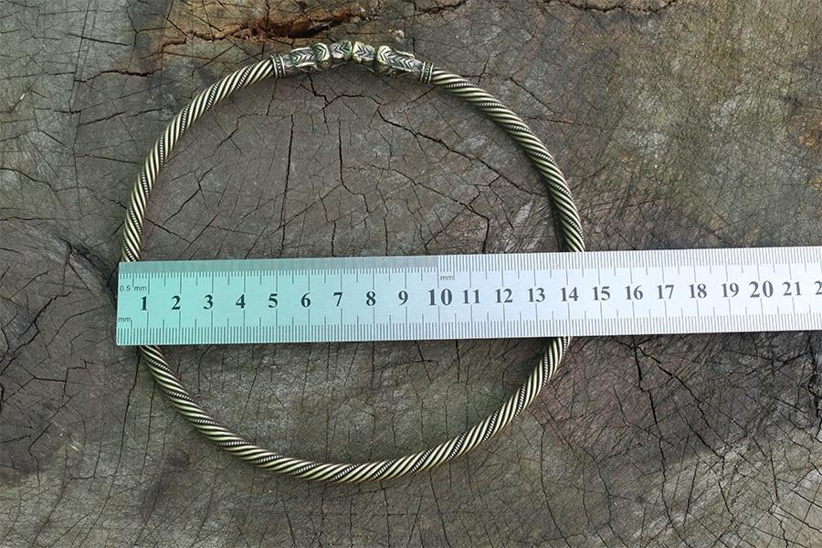 Viking Fenrir Bracelet or Fenrir Torc Neck Ring