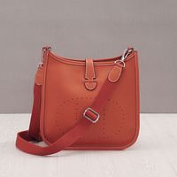 Genuine Leather Women Fashion Bucket Messenger Bags Luxury Cow Real Leather Shoulder Bag for Ladies Handbag Small Purse 2019 New