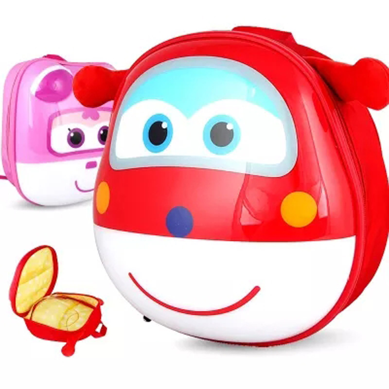 2017 Super Wings 3D Lovely School Backpack Action Figures Super Wing kindergarten boy girl baby student bags lovely Mochila 3 in 1 portable baby playpen children kids ball pool foldable pop up play tent tunnel play house hut indoor outdoor toys fancing