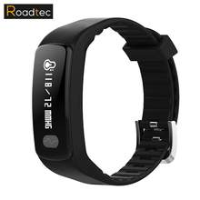 Good Wristband Blood Stress Pedometer Bracelet Health Exercise Tracker Monitor Cardiaco Good Band For Android IOS PW141