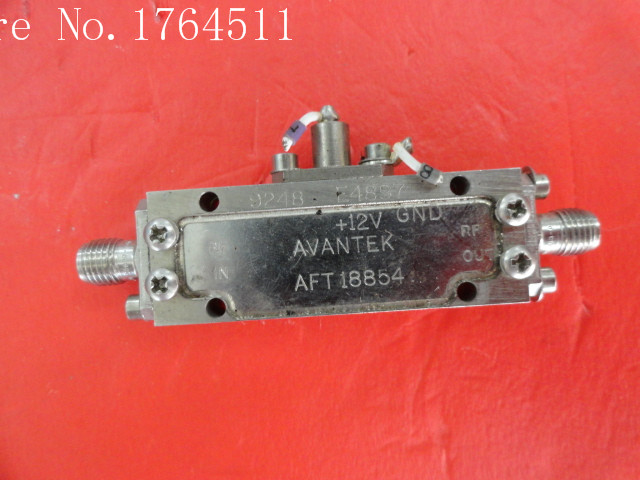 [BELLA] AVANTEK AFT-18854 8-18GHZ 15V SMA amplifier supply[BELLA] AVANTEK AFT-18854 8-18GHZ 15V SMA amplifier supply