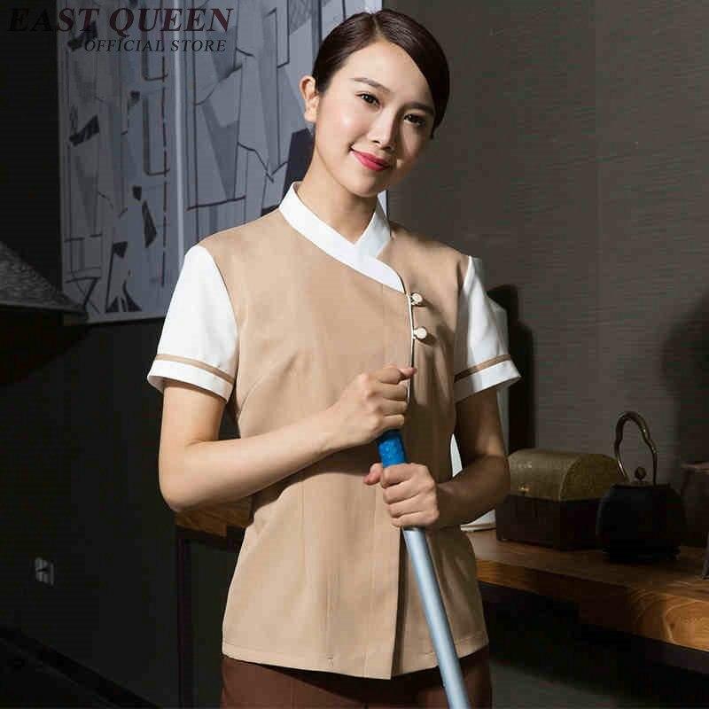 Hotel Uniform Hotel Housekeeping Uniforms Restaurant Waitress Uniforms Hotel Restaurant Clothing  NN0171