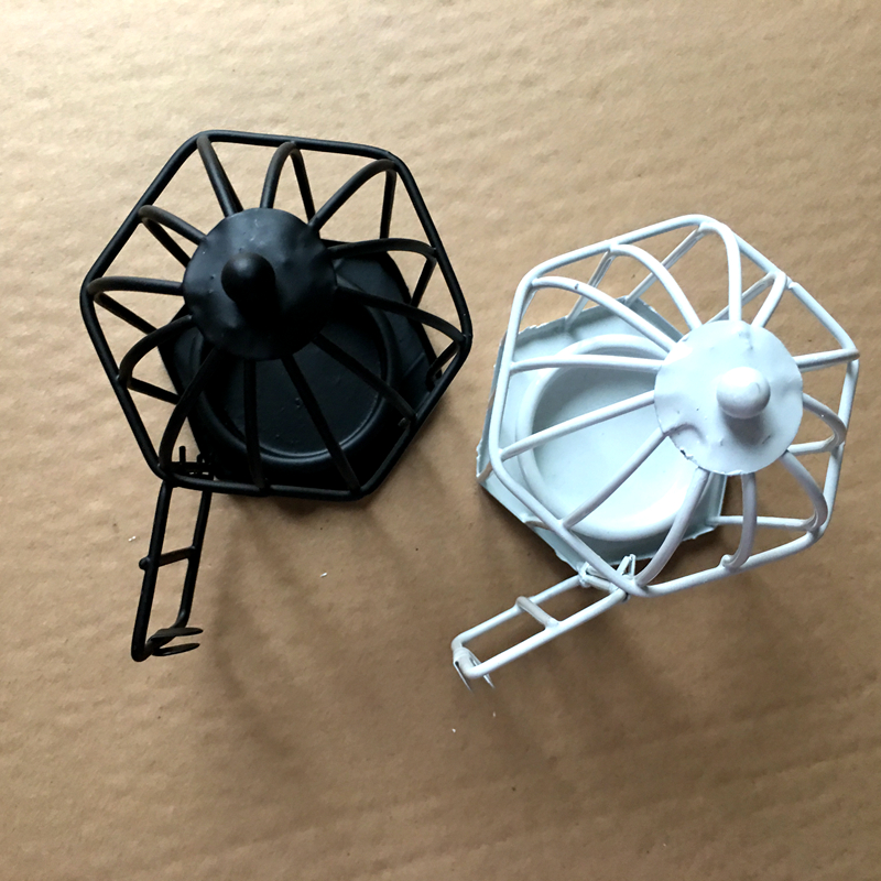 Free Shipping! Factory directly sale Wedding favor Black and White Love Songs Birdcage soy Tea Light/Place Card Holder