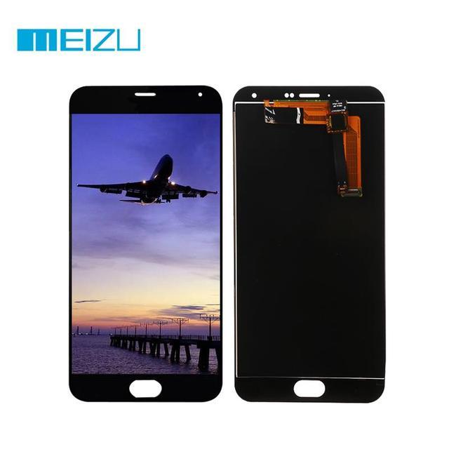 ЖК-дисплей Дисплей + Сенсорный экран планшета Для Meizu M2 Note Ассамблеи/Рамки для Meizu M2 Note Стекло Сенсор tpae + инструменты высокое качество