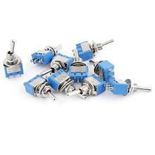 50 шт/лот автоматическое переключение 125 В/6a 250 В/3a spdt