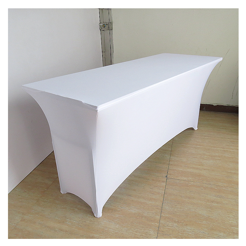 solid elastic table cloth wedding polyester waterproof tablecloths for weddings banquet party manteles para mesa customized - Polyester Tablecloths