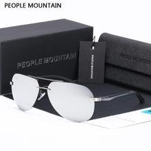 Pueblo de Montaña Polarizadas gafas de Sol de Las Mujeres Polaroid Gafas Gafas de Espejo de Conducción de Los Hombres Gafas de Moda Femenina Gafas de Sol 143