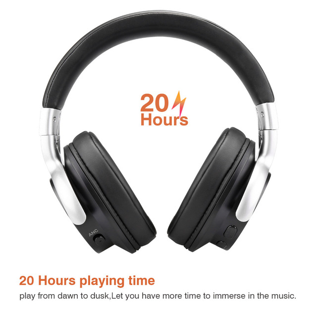 Mixcder E7 Bluetooth Headphones Active Noise Cancelling with Mic 4