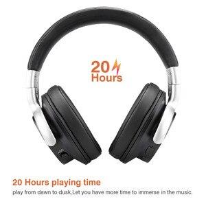 Image 4 - Mixcder E7 aktif gürültü iptal kablosuz Bluetooth mikrofonlu kulaklıklar Hi Fi Stereo kulaklık derin bas aşırı kulak kulaklık