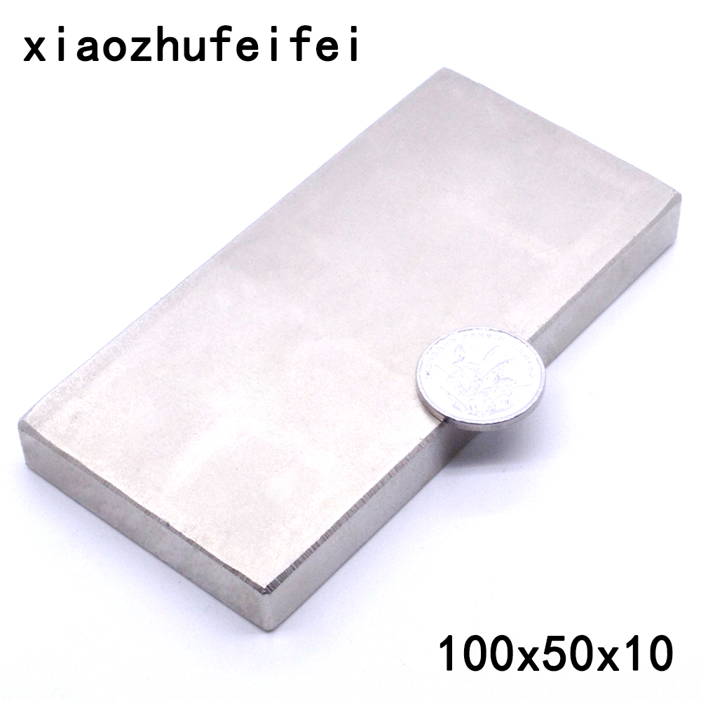 1pc Block 50x25x10mm SUPER STRONG N52 High Quality /& POWERFUL Magnet Neodymium
