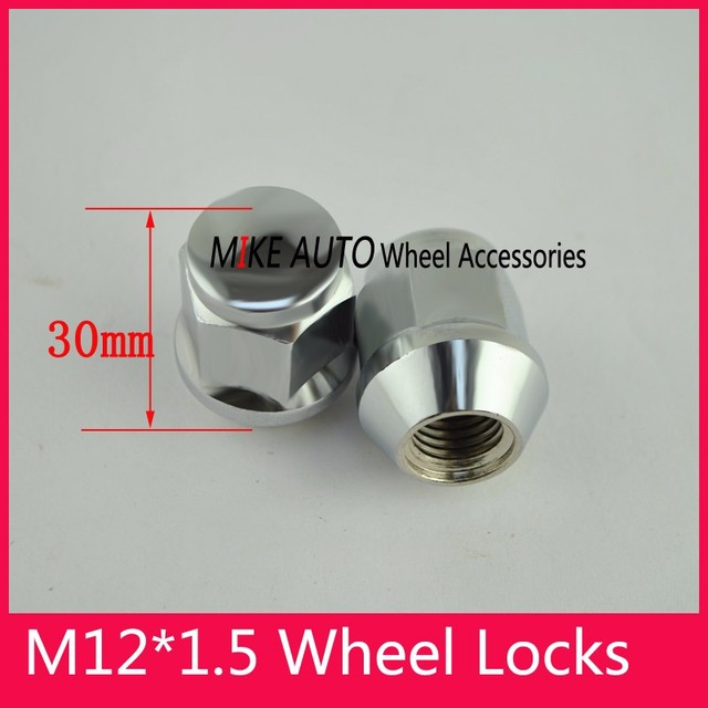 1pcs 19mm m12 x 1 5 nuts alloy wheel for ford fiesta focus turnier