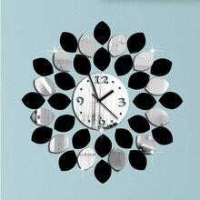 Новинка, ограниченное по времени предложение, кварцевые настенные часы, украшение для дома, новое специальное предложение, зеркальные акриловые часы, современный дизайн, часы с наклейкой