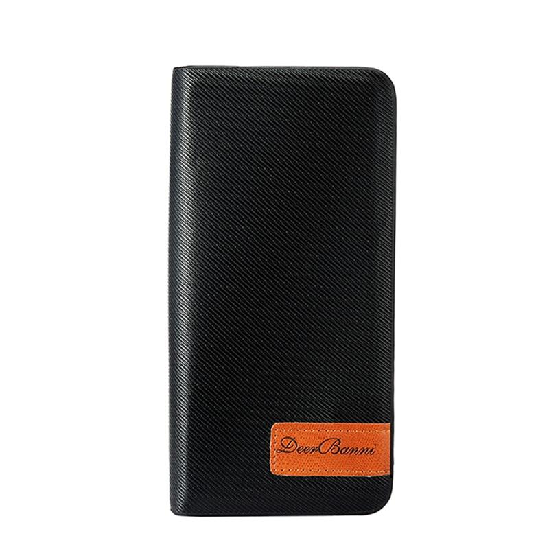 Famous Brand Men Wallet Zipper Coin Purse Long  Clutches Card Holder  Bag Carteira Masculina kz r16x kz r16t
