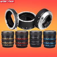 Metal Mount Auto Focus AF Macro Extension Tube Ring for Canon EOS EF-S Lens 760D 750D 700D 5D Mark IV 80D 7D T6s 6D Lens Adapter