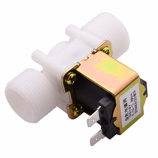New G3/4'' N/C Electric Solenoid Valve Water Diverter Device Control Switch DC12V