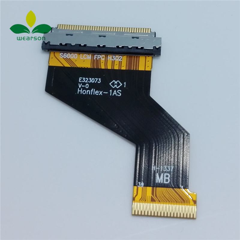 For Lenovo Le PAD S6000 LCM FPC Tested Good S6000 S6000H S6000F LCD Flex Cable