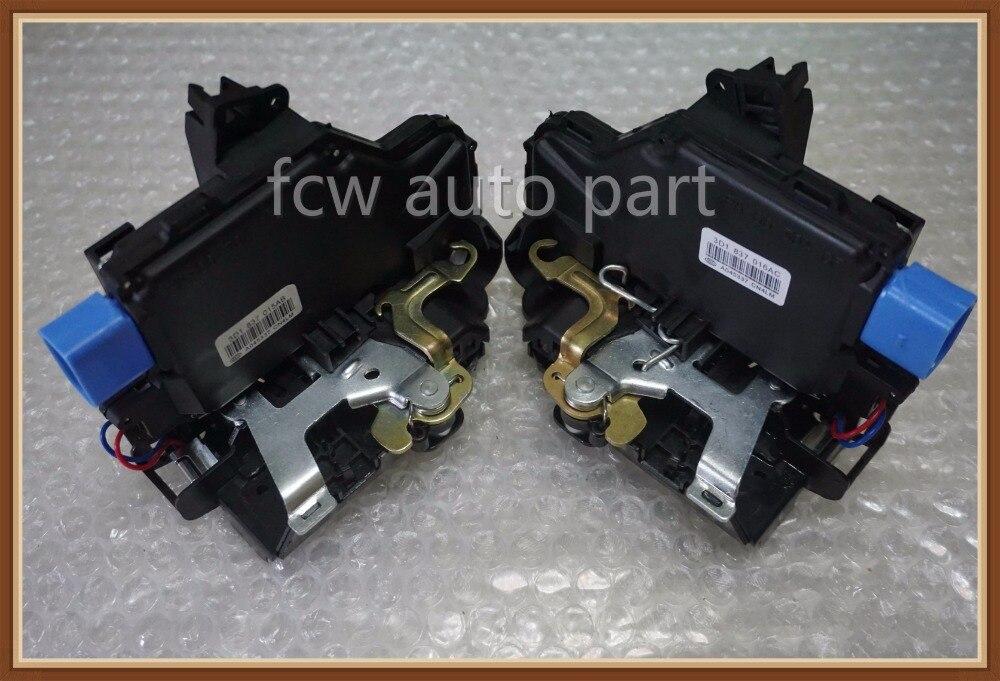 цена pair 2pc FRONT FOR VW GOLF V JETTA CENTRAL DOOR LOCKS MECHANISM 9 PIN 3D1837016A 3D1837016AB 3D1837016 3D1837016AP 3D1837016AC
