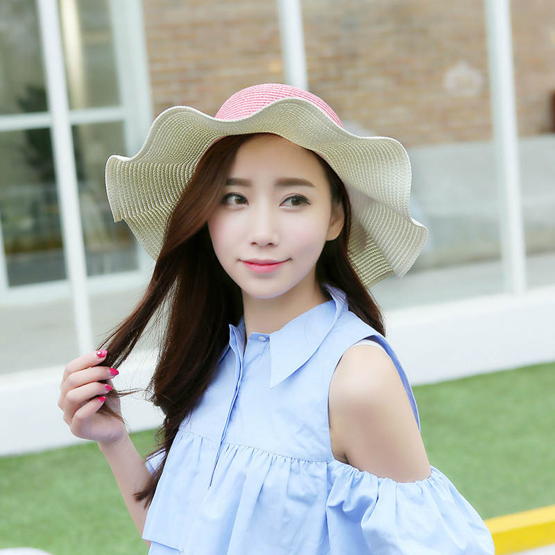 2017 Korean Version Of The New Creative Butterfly Straw Hat Big Along The Beach Cap Sun Hat Female Hat 2019 Latest Style Online Sale 50%