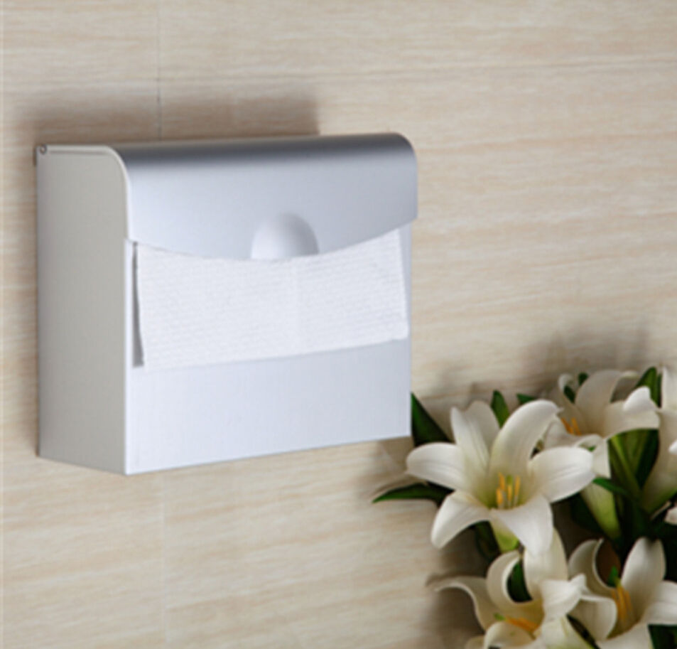Space Aluminum Toilet Paper Holder Bathroom Toilet Roll