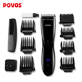 POVOS New Intelligent LED Display Multifunctional Electric Hair Clipper Professional Hair Styling Tools Hair Trimmer PR3092