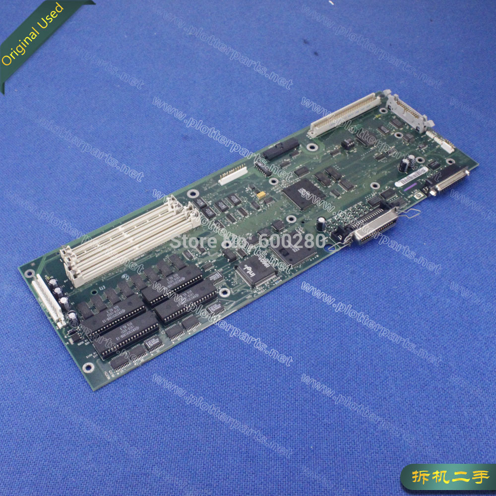 C2847-69101 Main logic board for HP DesignJet 600 plotter parts used electronics module formatter main logic board for hp designjet 510 510ps ch336 67002 plotterparts original used plotter parts
