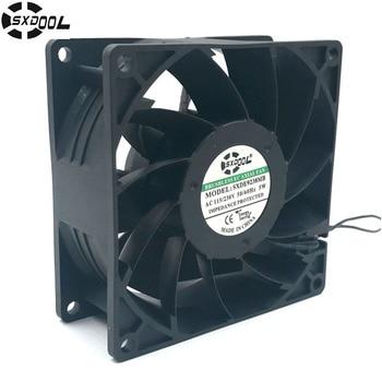 цена на SXDOOL ec fan motor 92*92*38 mm 92mm 110V 115V 220V 230V 50/60 Hz 5W 3000RPM 68.5FM case cooling fan