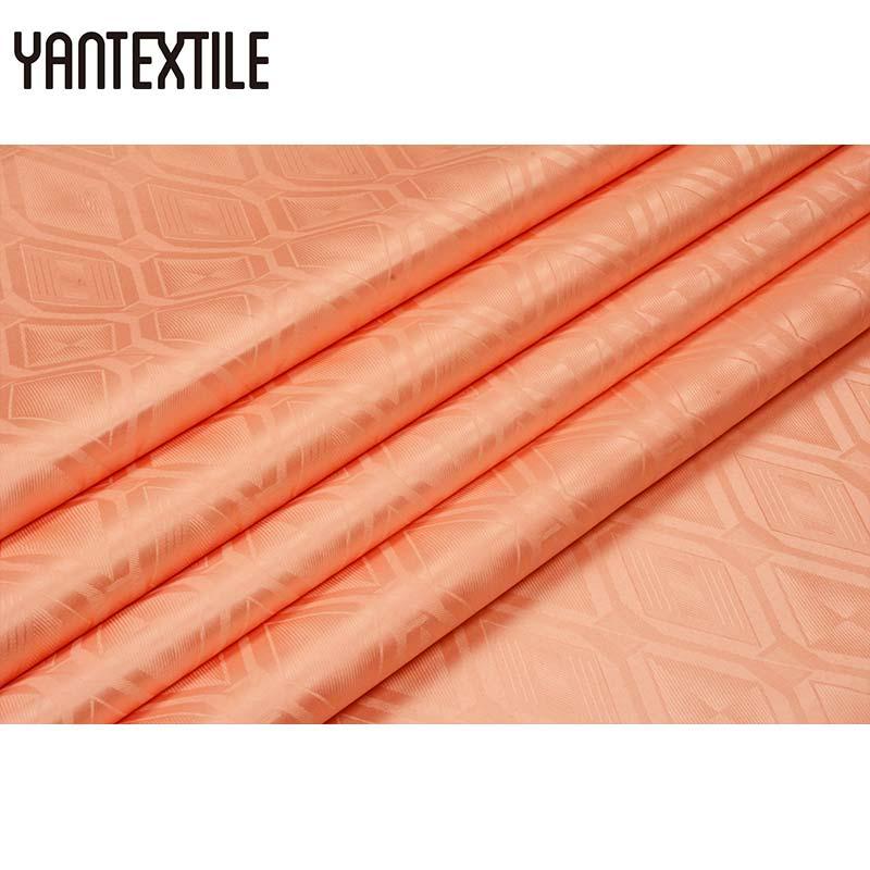 YANTEXTILE African Guinea Brocade Jacquard Fabric African Damask Fabric New Arrival 10 Yards Bazin Riche Getzner